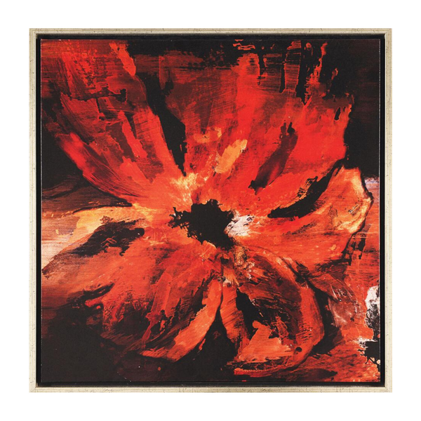 Painting Lava Bouquet 1 Print Artwork Stretched Wood Frame