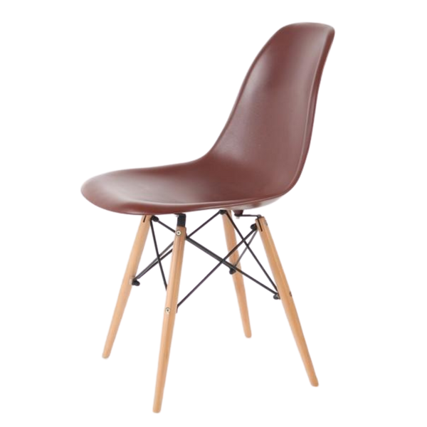 Chair Replica Eames Eiffel Reddish Earth Cafe Kitchen Dining