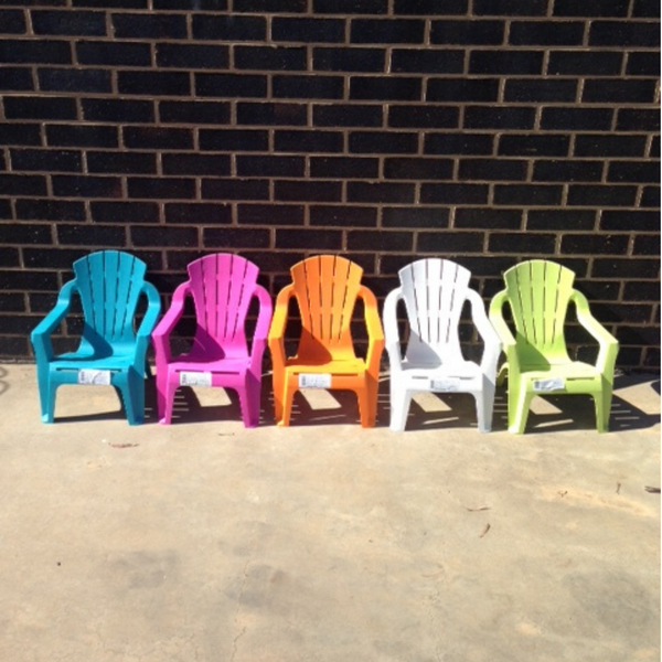 Replica adirondack kids chair, made from PU/Plastic