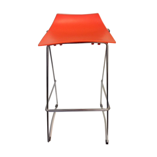 jacob bar stool orange