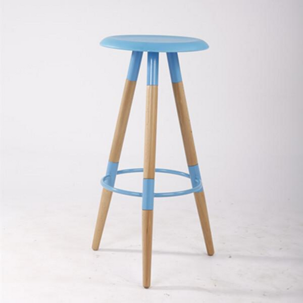 Bar Stool UFO in Aqua