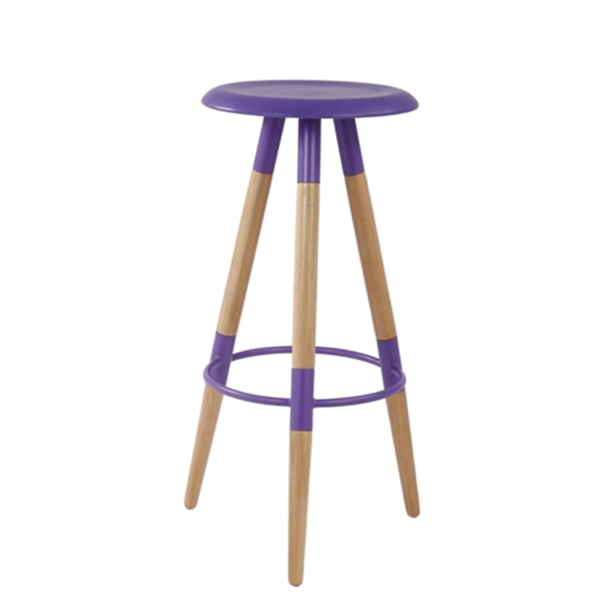 Bar Stool- UFO purple