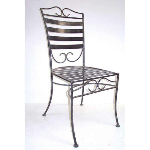 Outdoor dining chair, Dinner style, wrought iron