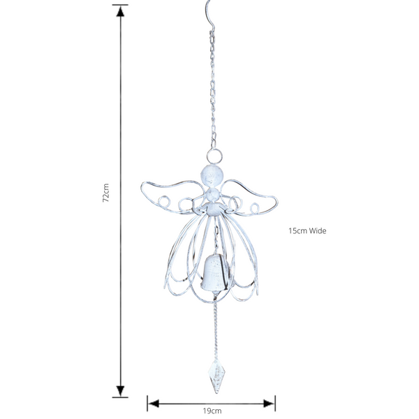 Angel Bell with dimensions