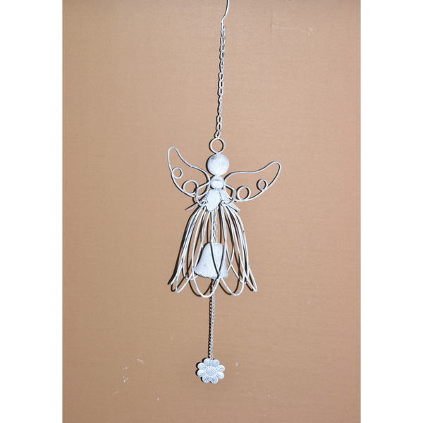 Hanging Angel bell with wings up