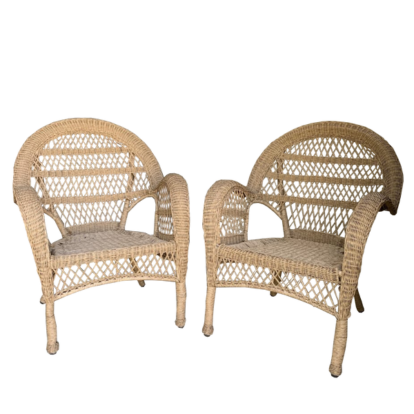 Province Poly Wicker Cane Weatherproof Outdoor chair