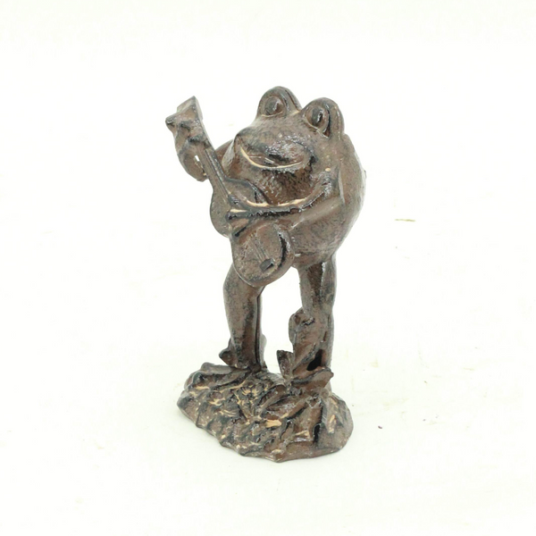 Statue - Frog Playing Guitar