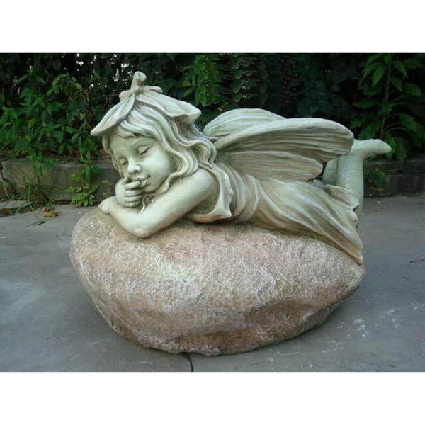 Statue Fairy Laying