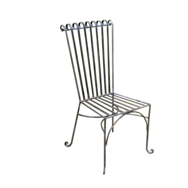 Wrought Iron Dining Chair, Emily Style
