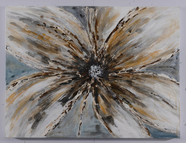 A PAINTING WILDFLOWER 75X100CM