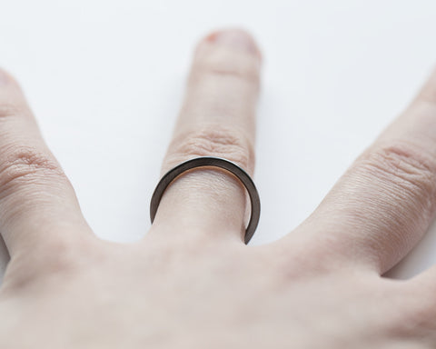 Flat simple ring