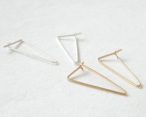 Staple line earrings