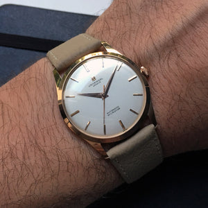 1958 Universal Geneve Automatic Microtor 18k RG