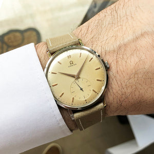 1954 Omega Ref.2808-1 Extremely Rare 40 mm Case