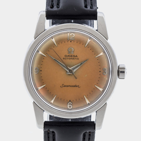 1955 Omega Seamaster Automatic Tropical Dial