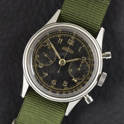 1952 Angelus Military Chronograph for Hungarian Army