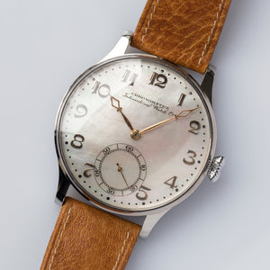 "1921 IWC Schaffhausen Cal.74 MoP Dial ""Marriage"""