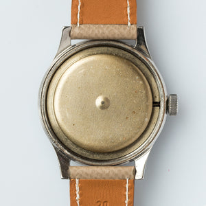 1950 Jumbo Certina Brevet Screw-back Case & Radium Dial
