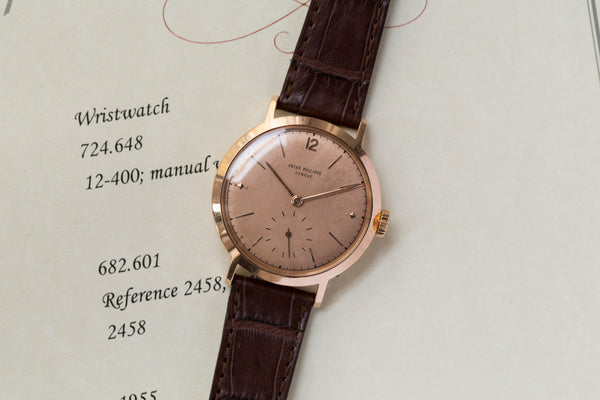 "1955 Patek Philippe Ref.2458 ""Pink on Pink"""
