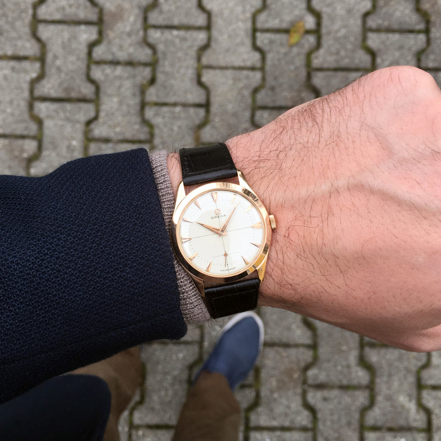 1951 Omega Teddington Ref.2619 18K Pink Gold