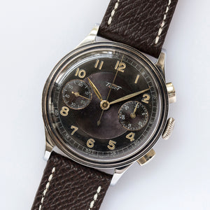 1941 Tissot Caliber 33.3 Two-Tone Guilloche Dial
