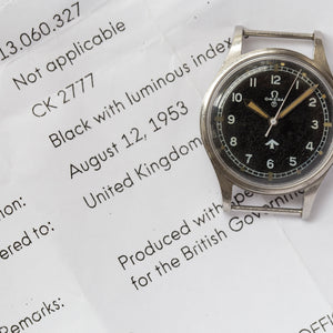 1953 Omega Military Ref.2777 Broad Arrow for MoD