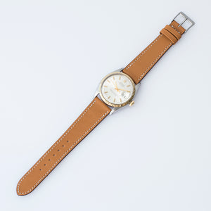 Smooth Tan Zermatt Calfskin Watch Strap