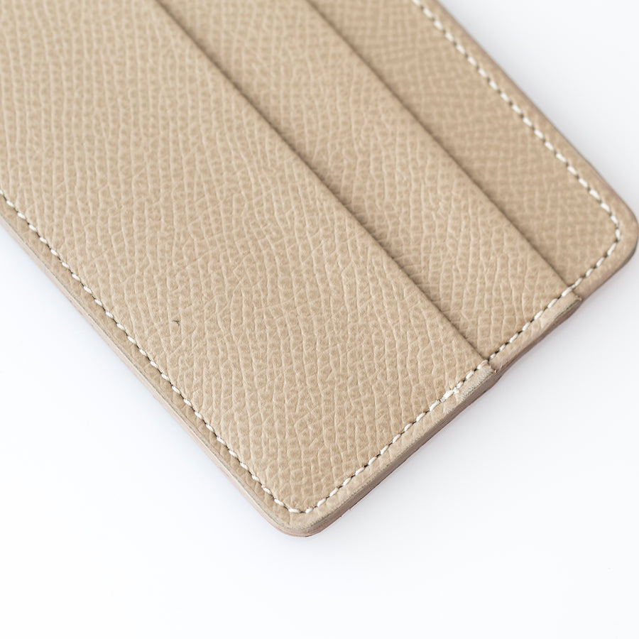 Light Gray Calfskin Cardholder