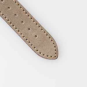 Taupe Suede Watch Strap