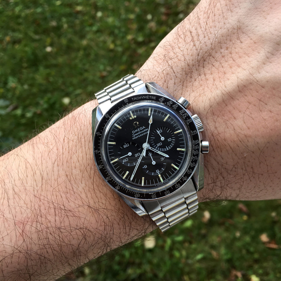 1966 Omega Speedmaster Ref. 105.012 CB Moonwatch