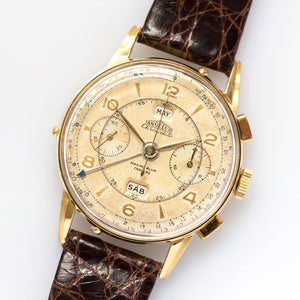 1946 Angelus Chronodato for Maximo Blum Caracas