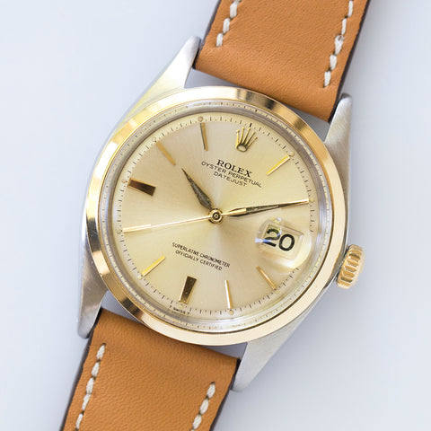 1964 Rolex Datejust 1600 Bi-metallic