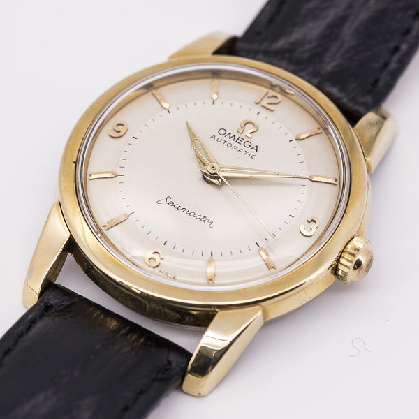 1955 Omega Seamaster Gold-capped