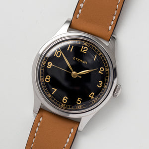 1947 Eterna Gilt Jumbo Screw-back Cal.852s