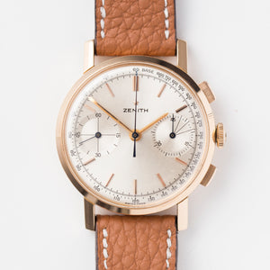 <b>ON HOLD</b> - 1959 Zenith Cal.146D 18K Pink Gold
