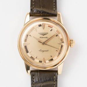1955 Longines Conquest 18k Yellow Gold
