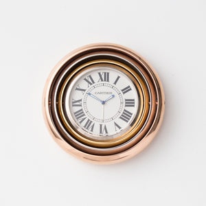 2006 Cartier Trinity Travel Alarm Clock