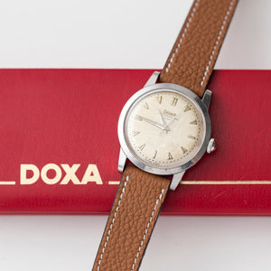 "1957 Doxa Rare ""Dead Seconds"""