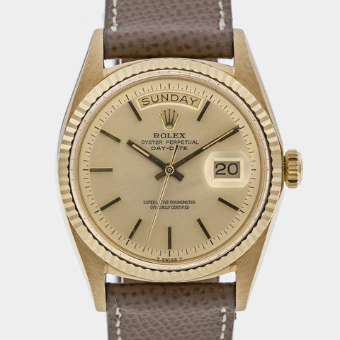"1969 Rolex Oyster Perpetual Day-Date ""No Lume"""