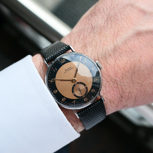 1944 Doxa Two-Tone <b>New-Old-Stock</b>