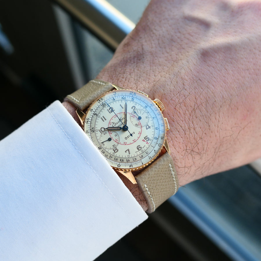 1945 Breitling Chronomat Ref.769 18K Solid Rose Gold