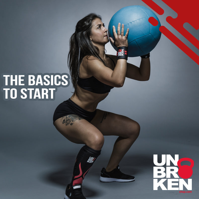 The basics to start with Cross training & fitness
