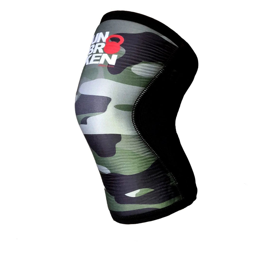 Cross Gear & Fitness Kneecap sleeve support 7mm Reversible men women comp. Rehband Rock Tape SINGLE-one