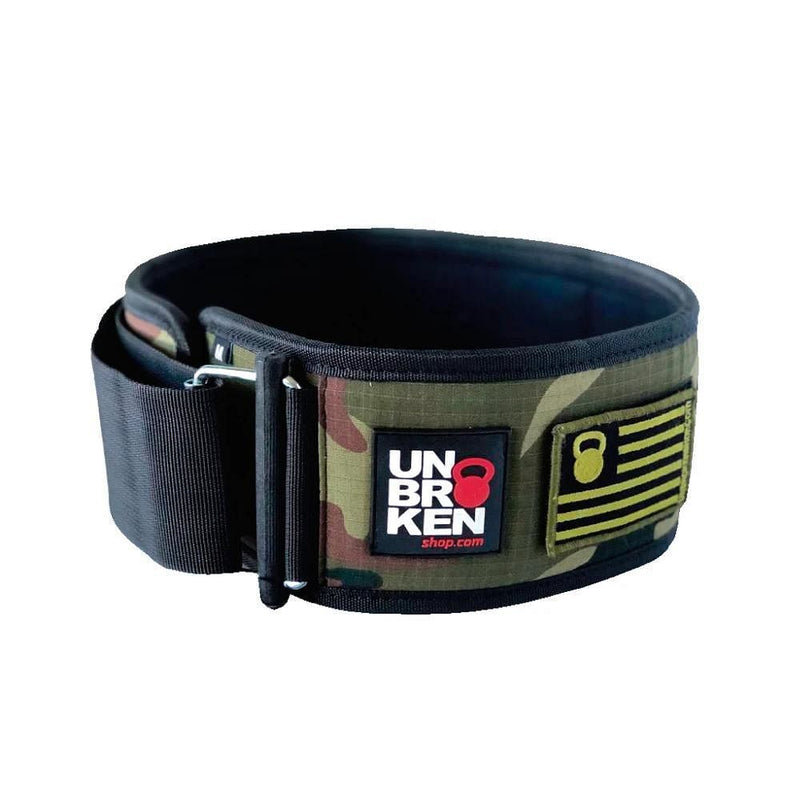crossfit weight lifting belt camo