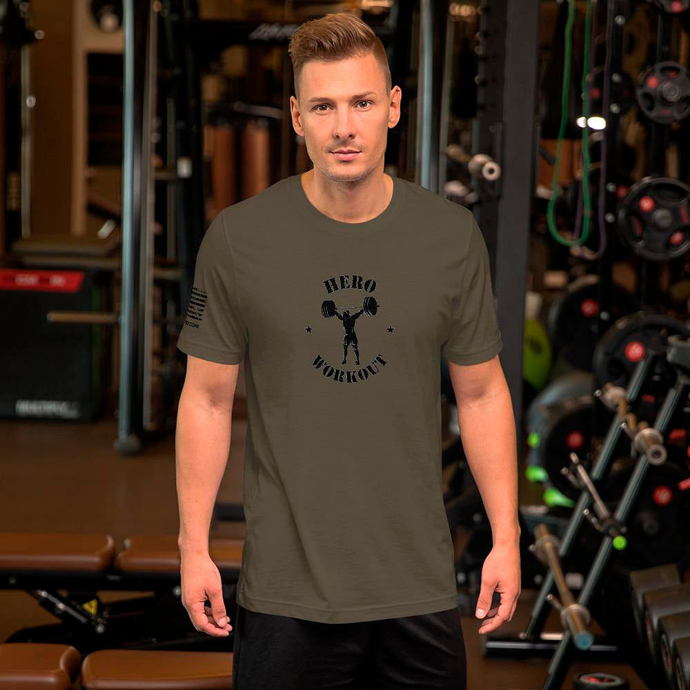 WOD T-shirt Hero Workout