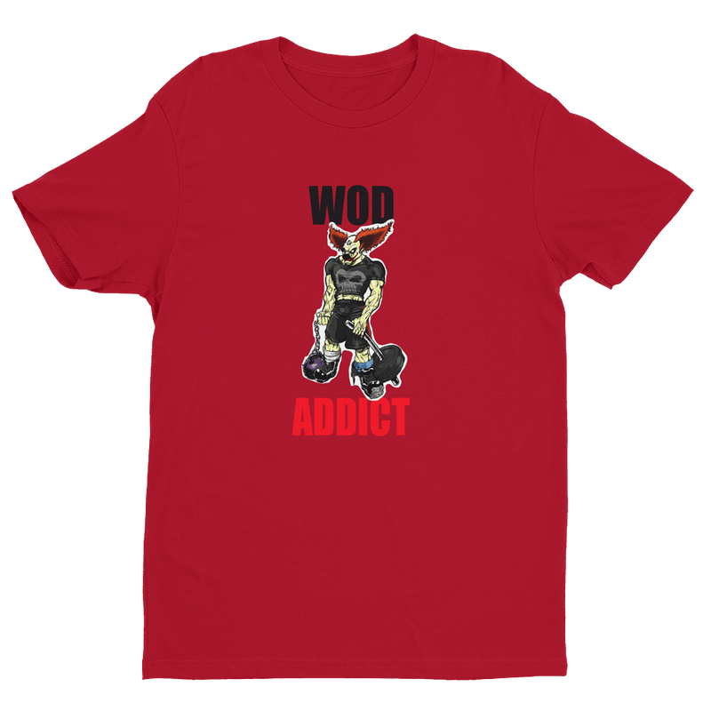 Wod Addict Pukie T-shirt