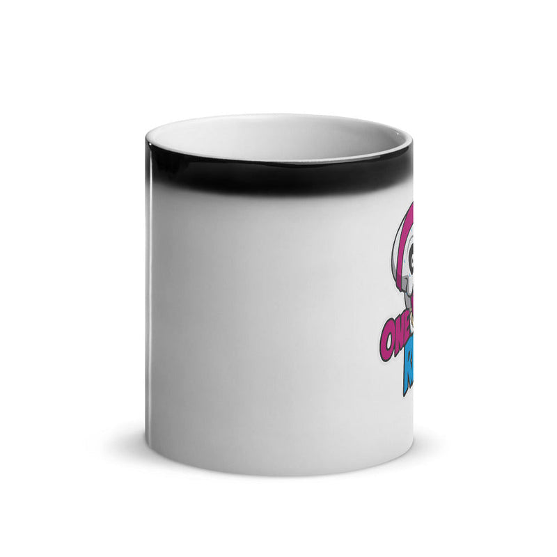 One More Rep Glossy Magic Mug