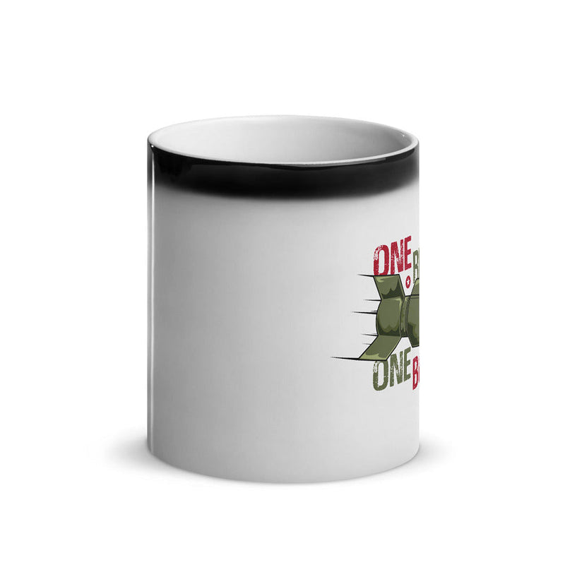 One Rep One Bomb Glossy Magic Mug