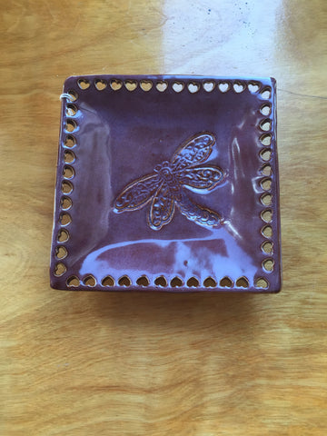 Handmade Pottery Jewelry Tray