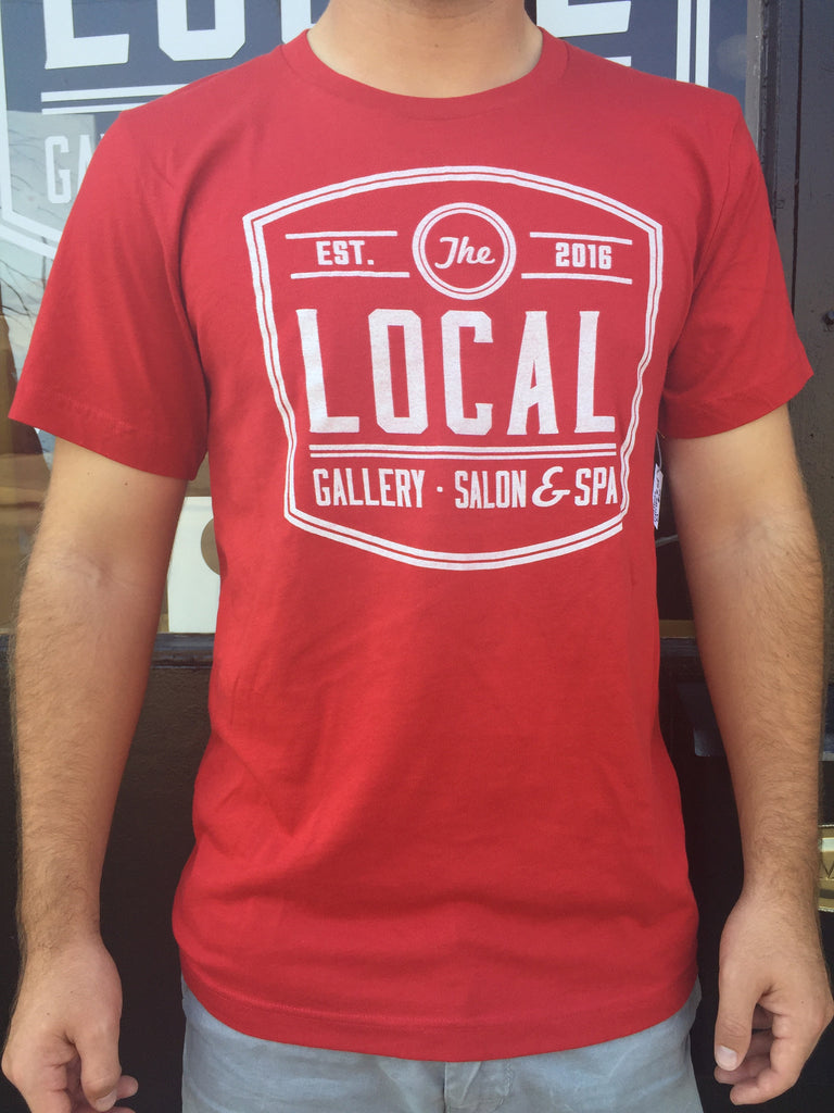 LOCAL Gallery Bella+Canvas Short Sleeved Red T-Shirt